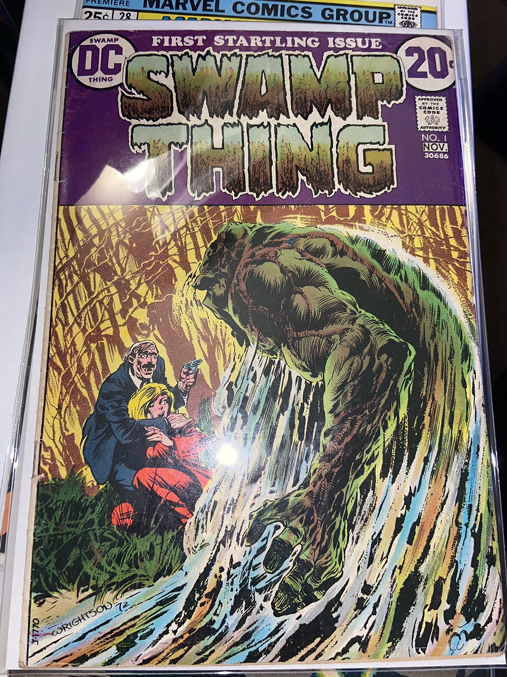 Swamp Thing 1 from DC (1972) by Bernie Wrightson and Len Wein