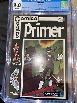 Comico Primer 2 (1st Grendel)