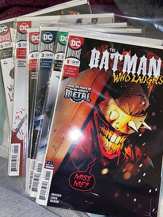 Batman Who Laughs 1-7