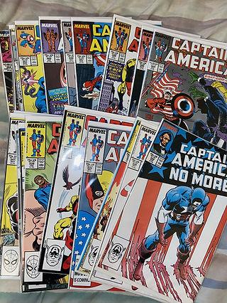 Captain America Comic Lot