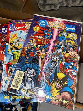 Marvel vs DC 1-5 Complete Comic Set