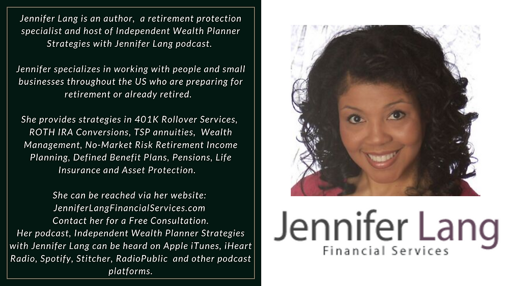 At JenniferLangFinancialServices.com we can help you maximize your Social Security benefits. Contact us today