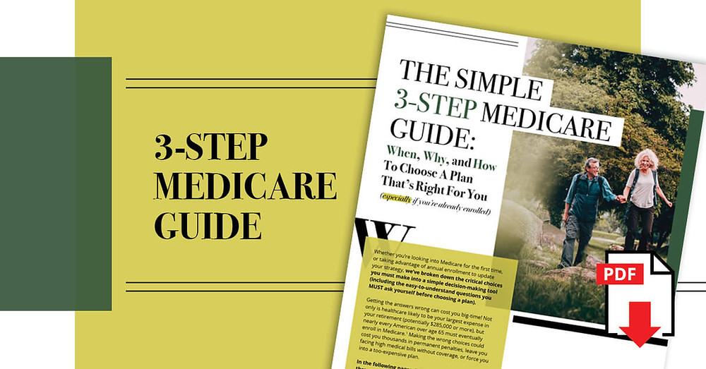 """Read """"The Simple 3-Step Medicare Guide"""""""