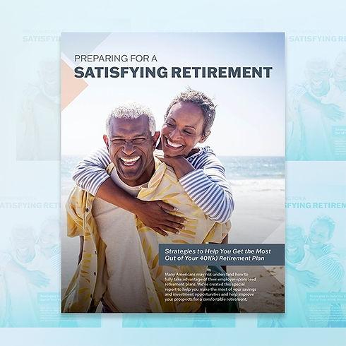 Cover _ Preparing for a Satisfying Retir
