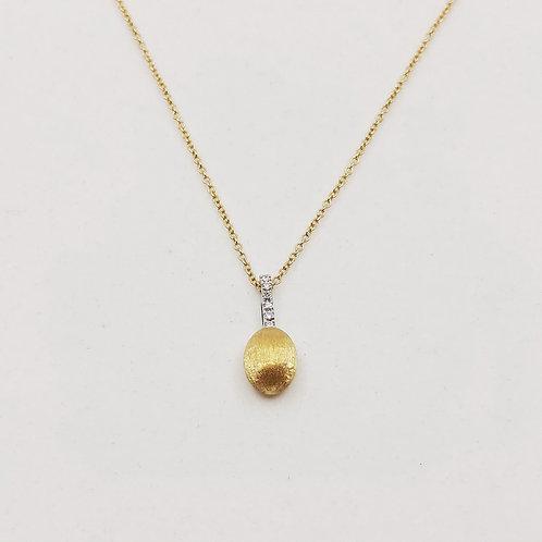 Золотое колье Nanis с бриллиантами