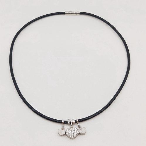 Серебряное колье Nanis с бриллиантами