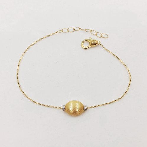 Золотой браслет Nanis с бриллиантами
