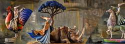 новая коллекция скульптур