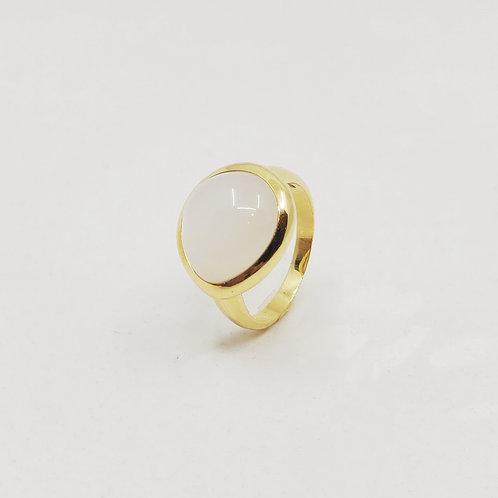 Золотое кольцо Brusi с лунным камнем