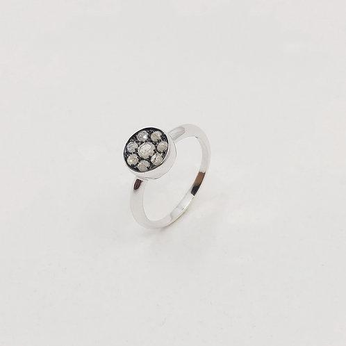 Золотое кольцо Brusi с бриллиантами pique