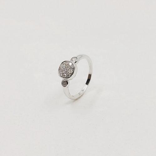 Золотое кольцо Brusi с бриллиантами
