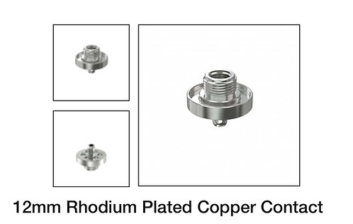 12mm Rhodium Plated Copper Contact