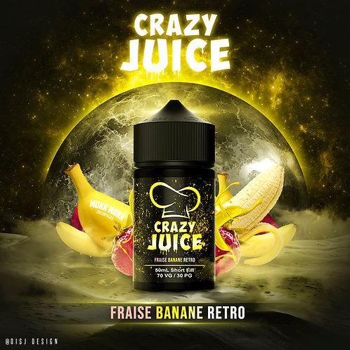Fraise Banane Retro 50ml Mukk Mukk
