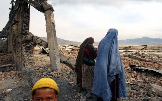 Kaboul en ruine, 2002