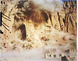 Destruction Bouddhas Bamyian