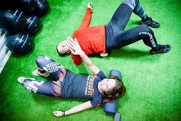 после тренировки в Eto CrossFit Detka