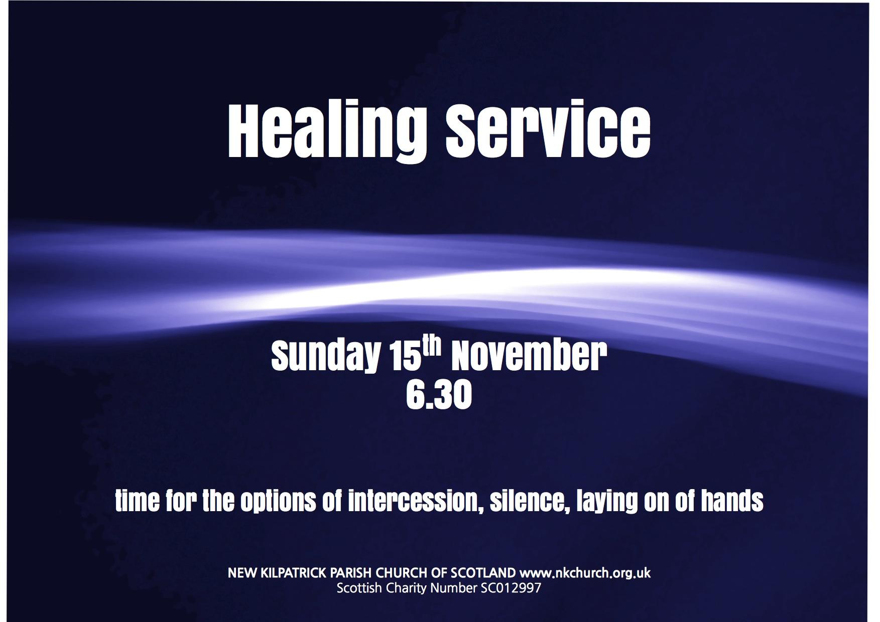 Healing Service | nkchurch