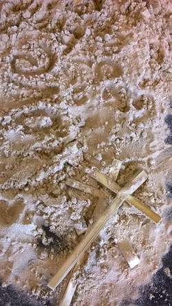 Finding Crosses Among the Sand