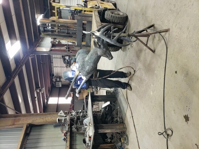 Bronze Sculpture Repair
