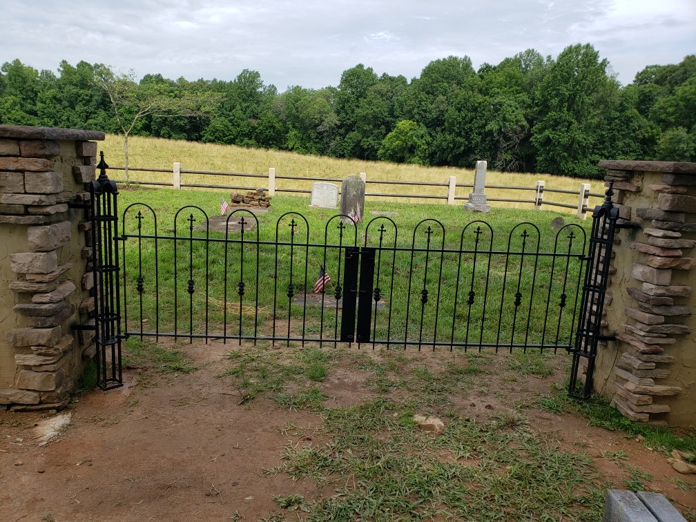 Cemetery Gate Repair