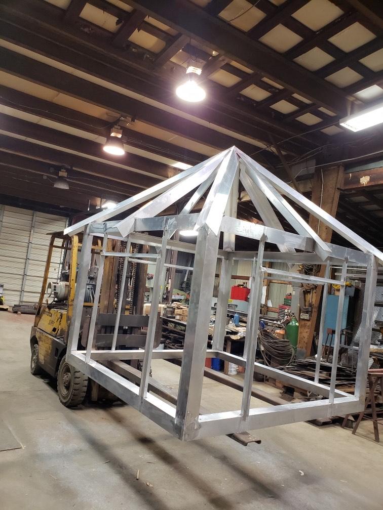 Aluminum Cupola Fabrication