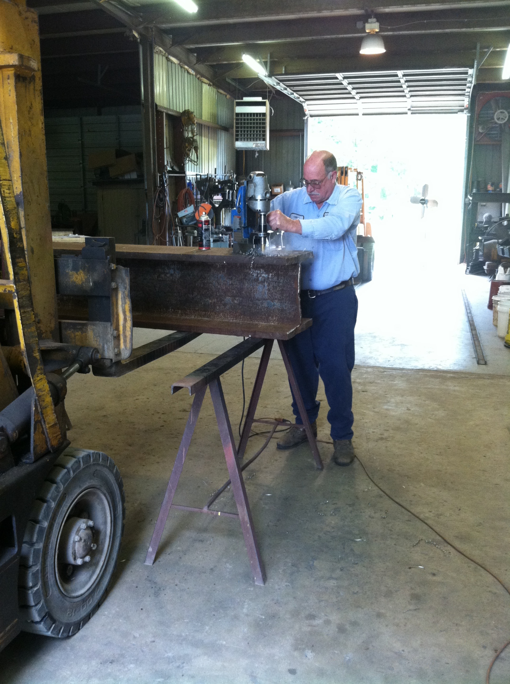 Steel I Beam from World Trade Center to Donate to Louisa County Sheriff's Office Building Entrance