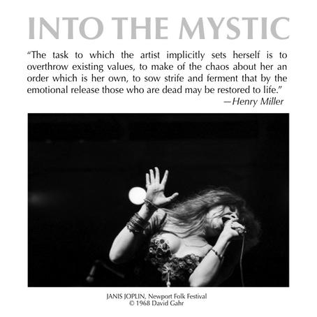 Henry Miller with Janis Joplin