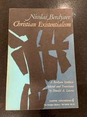 Nikolai Berdayev-Christian Existentialis