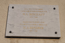 Memorial Plaque on the House in Clamart