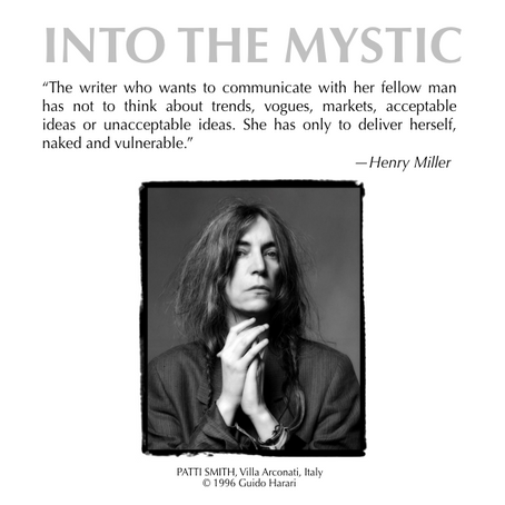 Henry Miller with Patti Smith