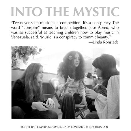 Linda Ronstadt with Bonnie Raitt and Maria Muldaur
