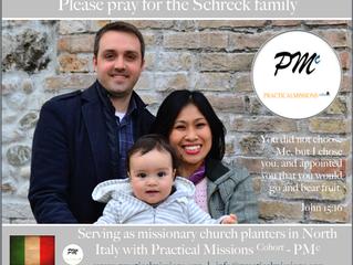 1st PMc Prayer Card