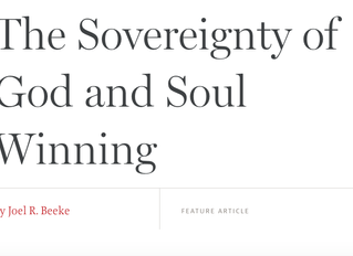 Article on Sovereignty of God and Evangelism
