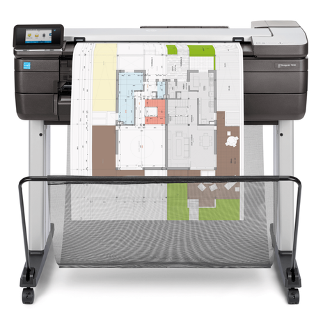 24-inch HP DesignJet T830 Multifunction Printer Expands Options for Architects and Construction Team