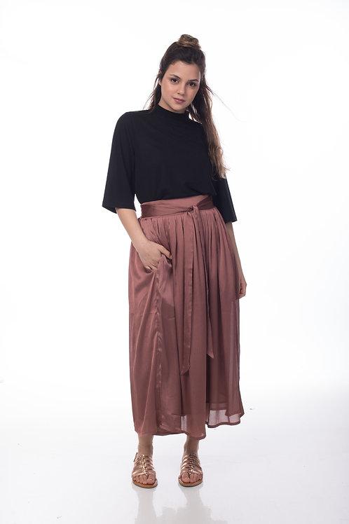 חצאית אניס   ורוד עתיק