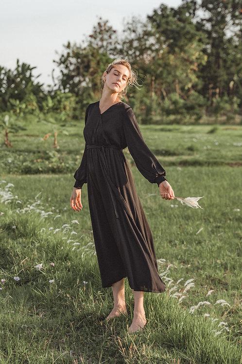 שמלת דרור   שחור