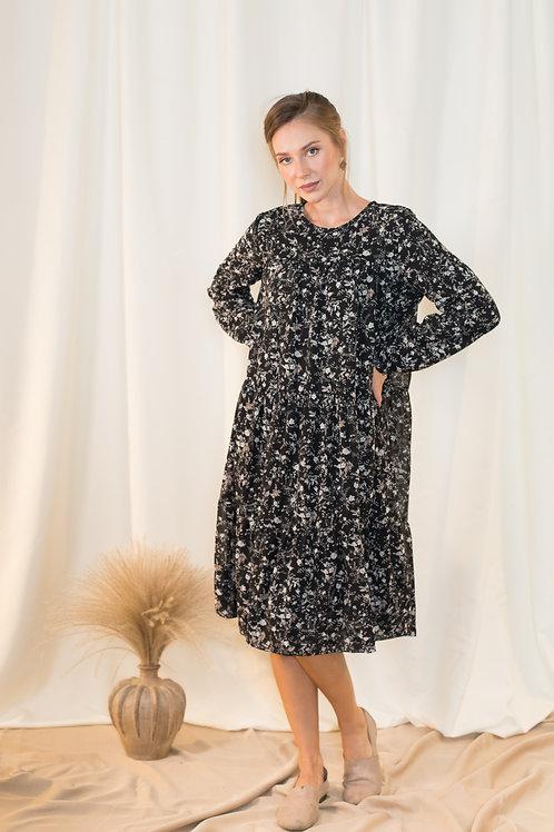 שמלת עופרי | שחורה