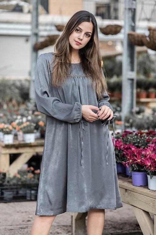 שמלת טוהר | אפור-כחול