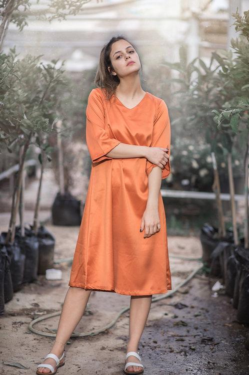 שמלת נויה | כתומה