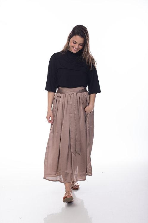 חצאית אניס | חום עתיק