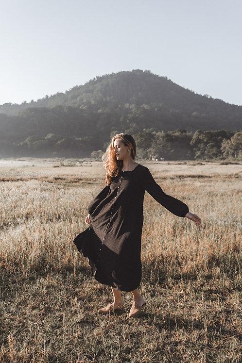 שמלת נוהר   שחור