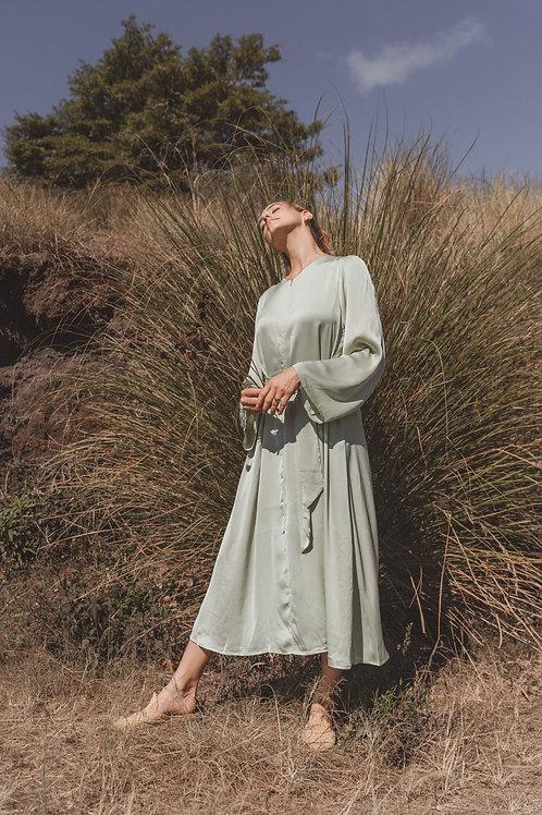 שמלת יערה מנטה