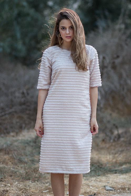שמלת אגם   ורודה