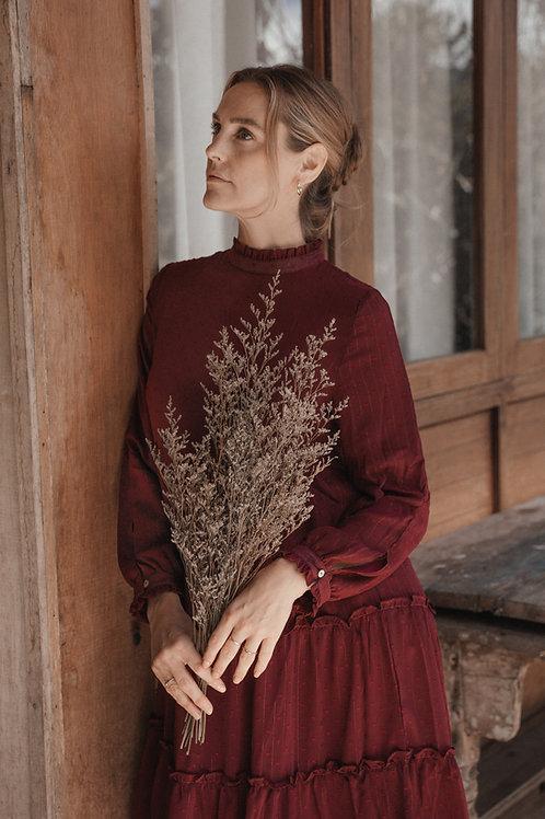 שמלת תמר | בורדו
