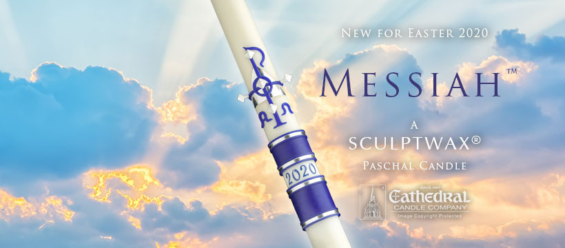 New Paschal Candle for 2020