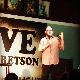 Stand-up comedian Dan Bublitz Jr at O So Good