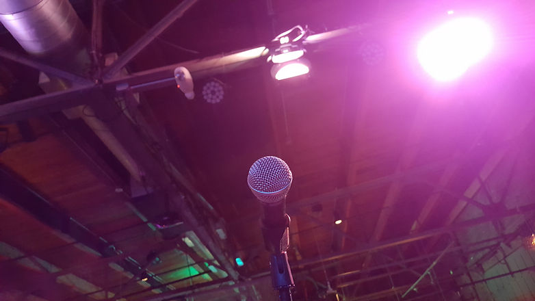 Microphone POV into rafter