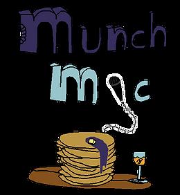 Munch Mic Comic Logo