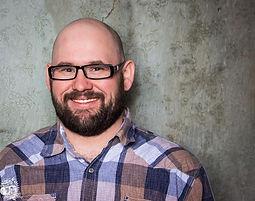 Comedian Dan Bublitz Jr smiling