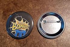 "Art of Bombing Logo 2"" Pushback Button"